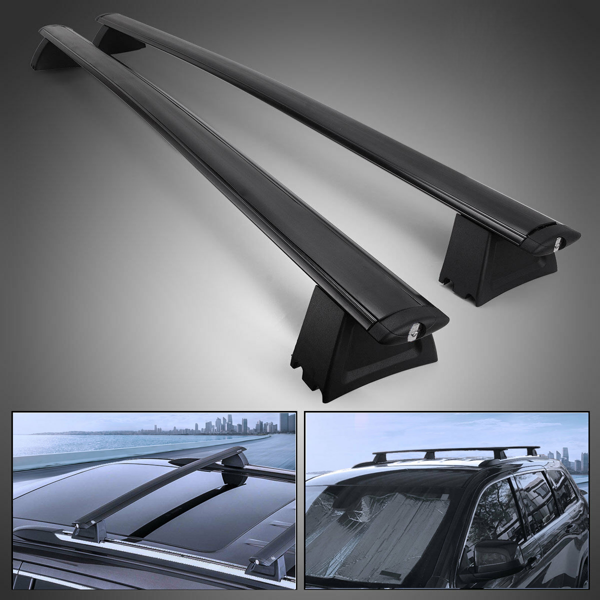 Cross Bars Roof Racks For 2011-2014 JEEP GRAND CHEROKEE ...