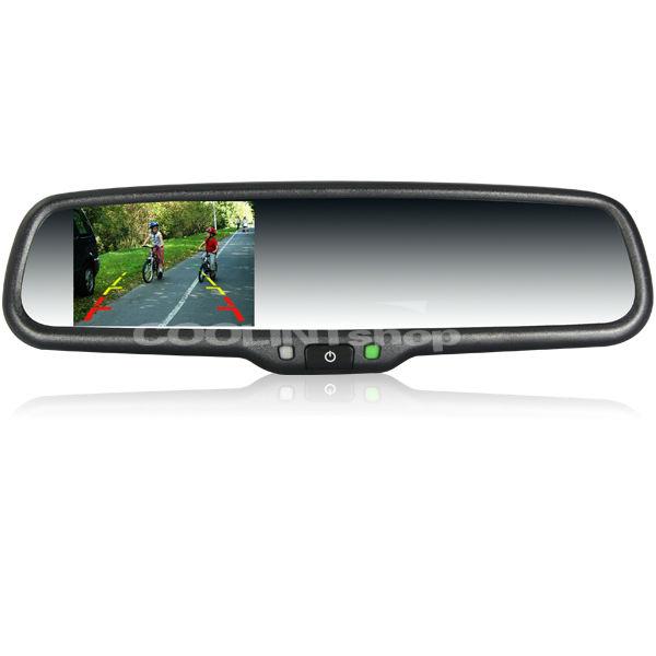 """Car rearview mirror+3.5/""""reversing display+camera,fit Honda Civic,Accord,FIT,UK"""