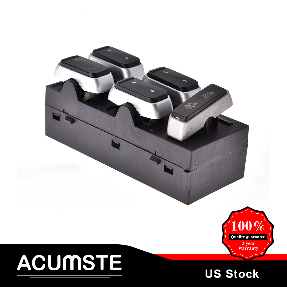 New Electric Power Window Switch Front Driver Side for 2003-09 Lincoln Town Car