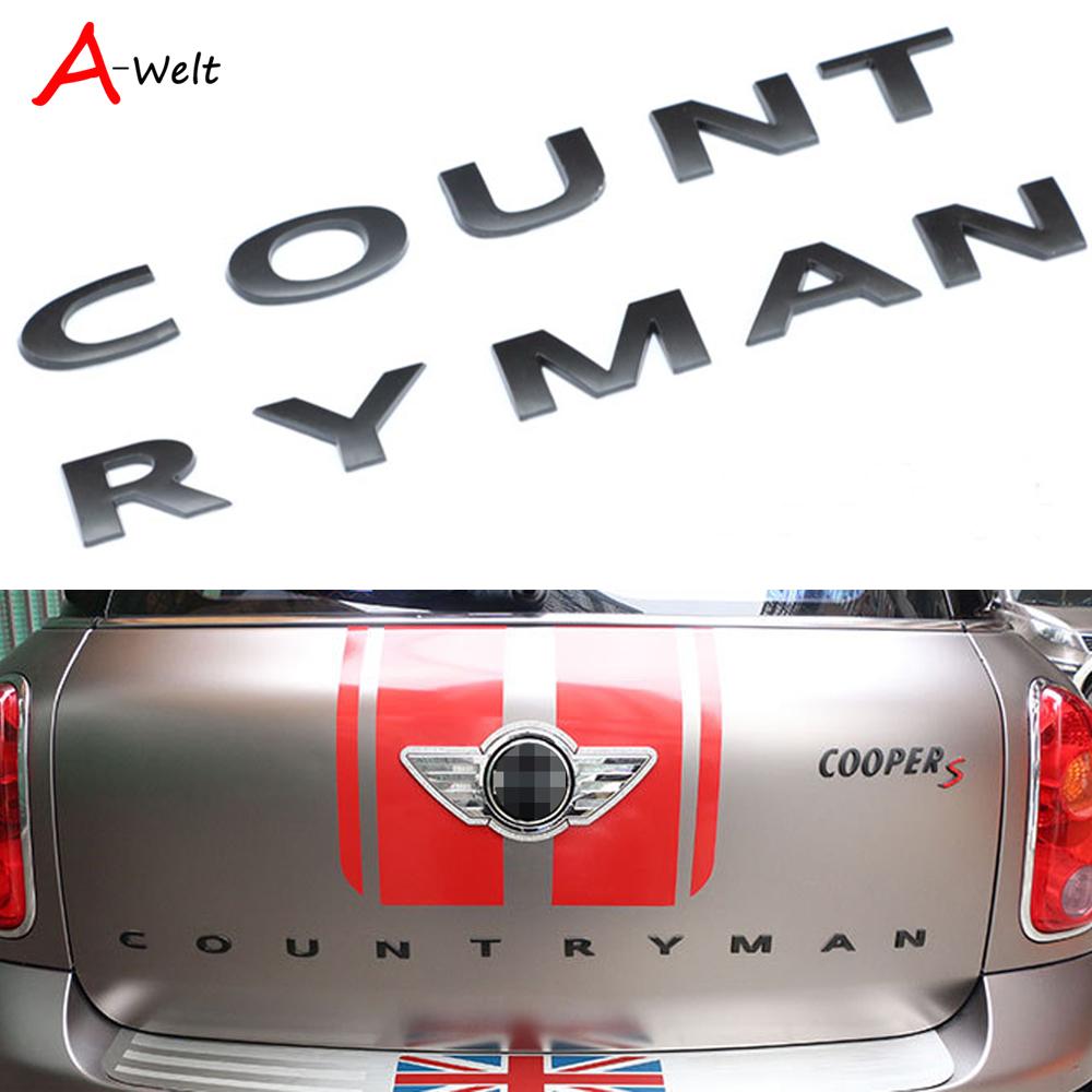 Mini embl/ème logo COUNTRYMAN pour MINI Countryman F60