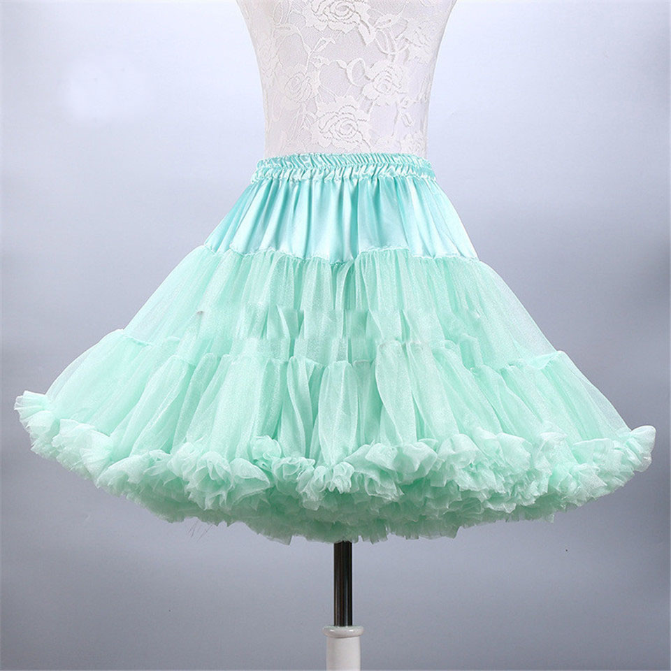 In Stock Multi-Color Wedding Petticoat To Party Underskirt Tutu ...