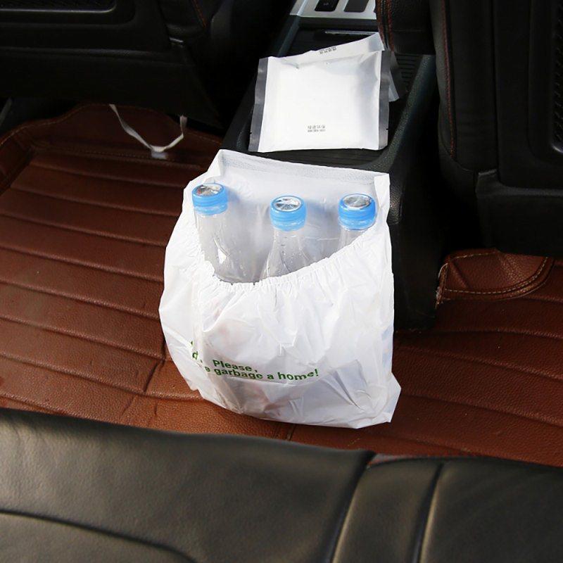 Car Garbage Bag Disposable Auto Trash Biodegradable Paste