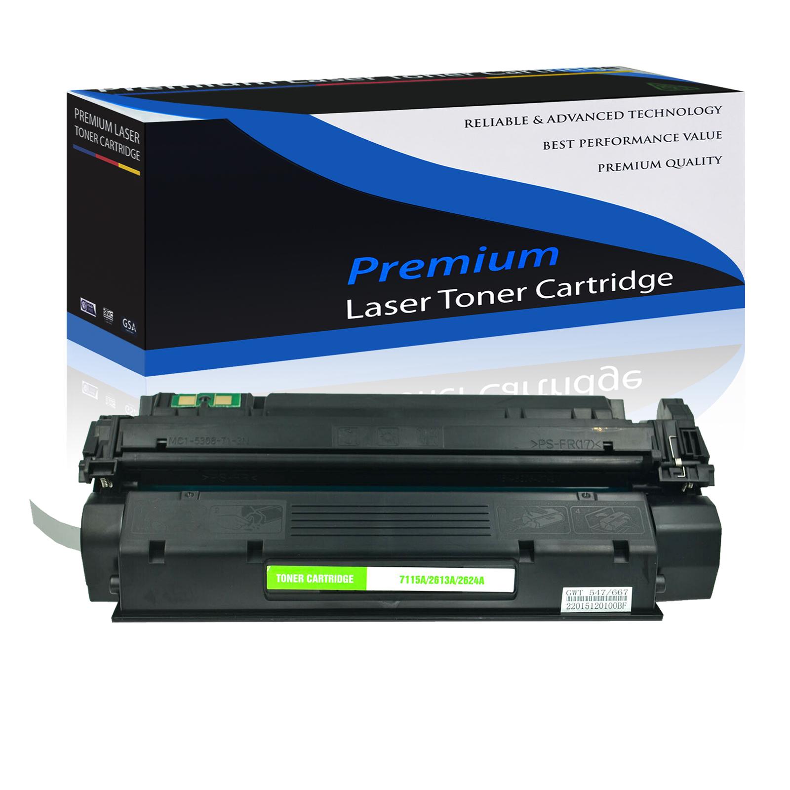 3 PK Laser New Toner Cartridge High Yield Black Compatible for HP LaserJet 1150