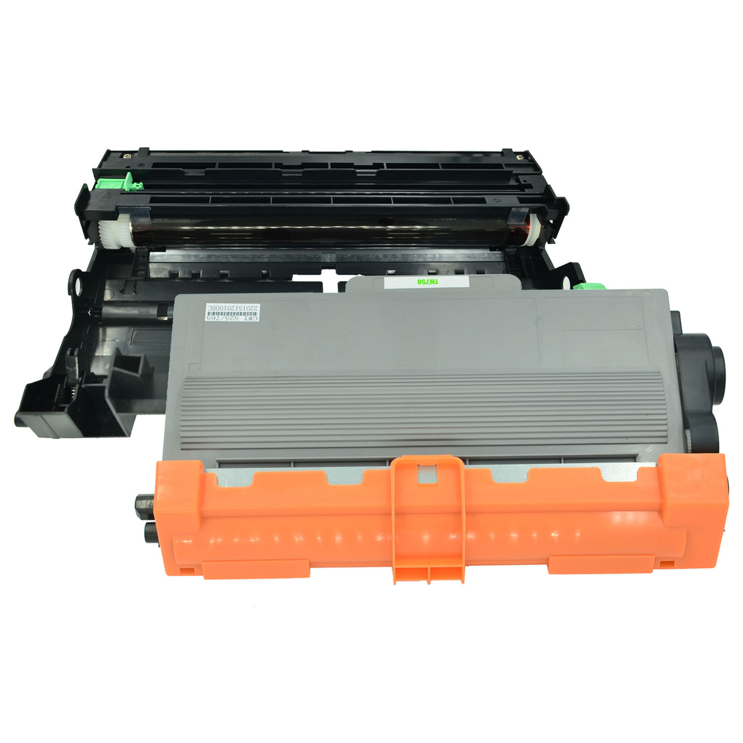 1 Brother DR720 Drum MFC 8910 8950 3 Compatible Brother TN750 Toner Cartridge