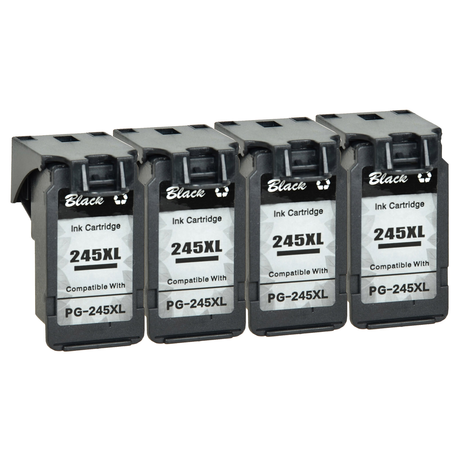 5 PK PG-245 XL PG245XL Black Ink Cartridge for Canon PIXMA IP2820 MX492 Printer