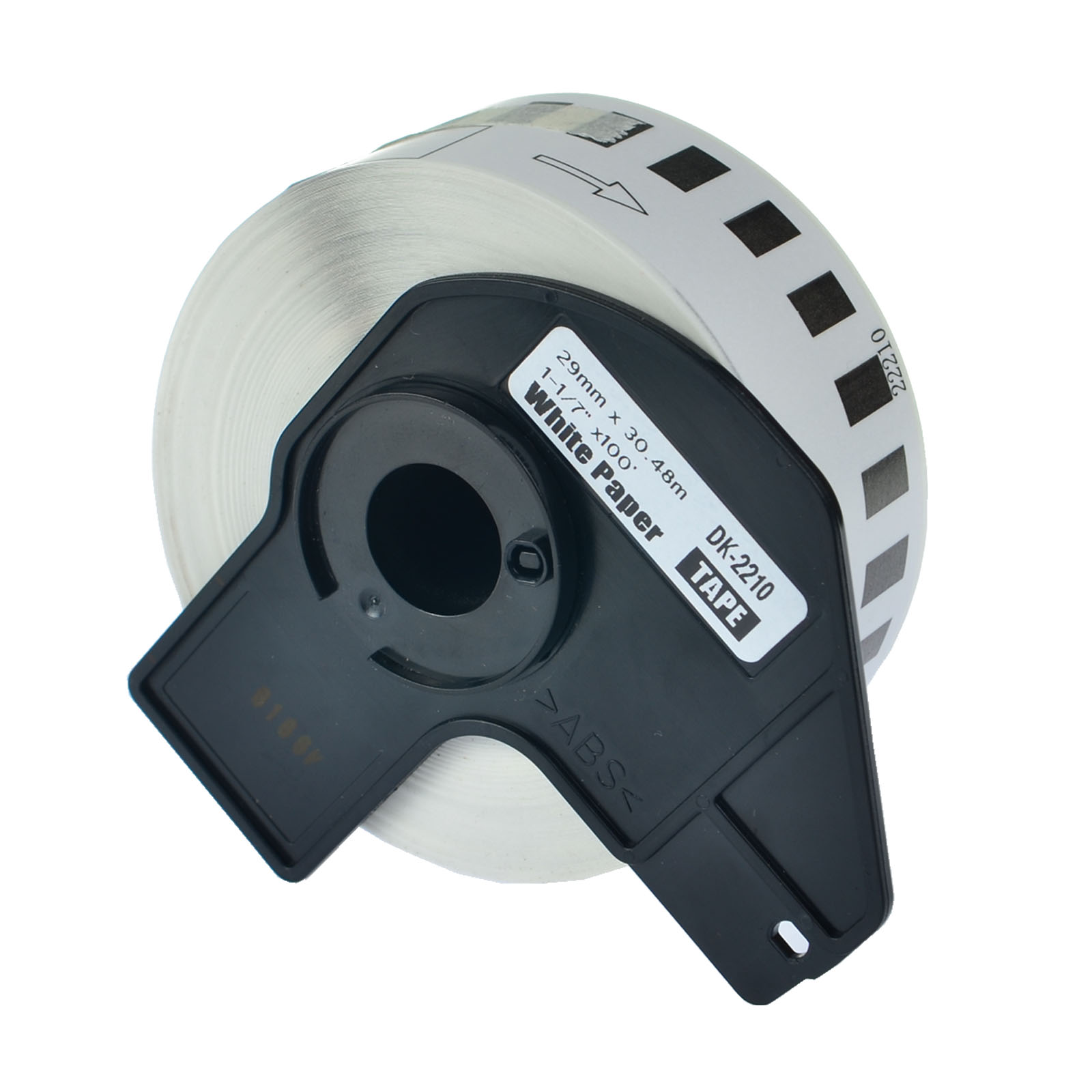 10 Roll DK2210 DK-2210 Continuous Label w// Frame for Brother QL-1060N 1050N