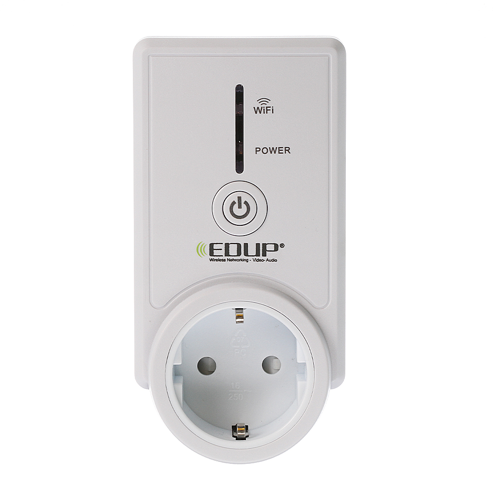 Details about EDUP EP-3703S WiFi Smart Socket Wireless Remote Switch  Controller Fr Android ios