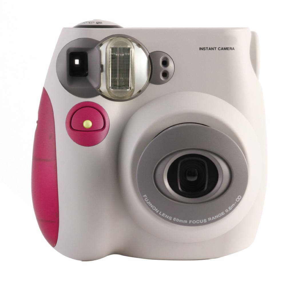 Pink & White FujiFilm Fuji Instax Mini 7S Instant Photos Films ...