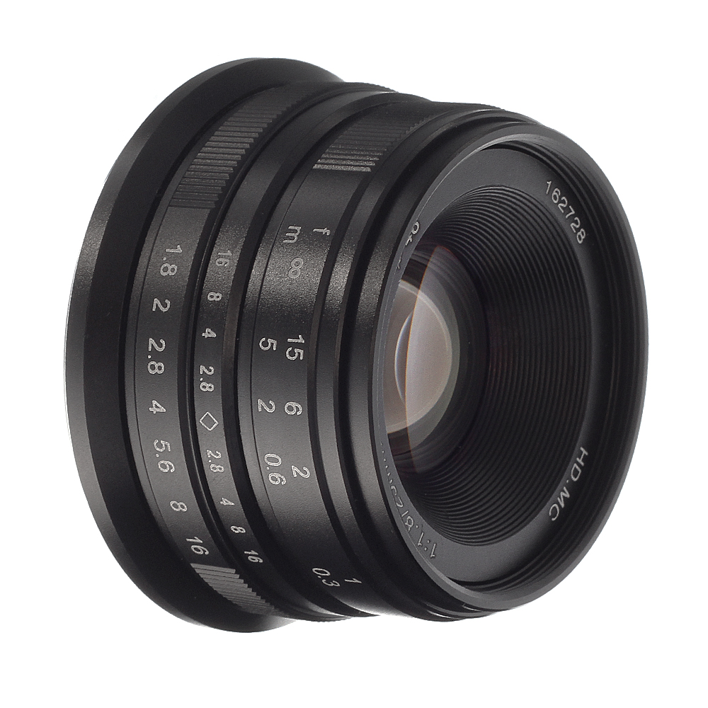 25mm F  1 8 Fixed Lens Manual Focus Mf For Sony E