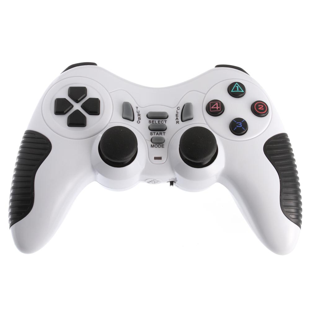 Wireless USB 2.4G Game Controller Gamepad Joystick for PC Laptop ...