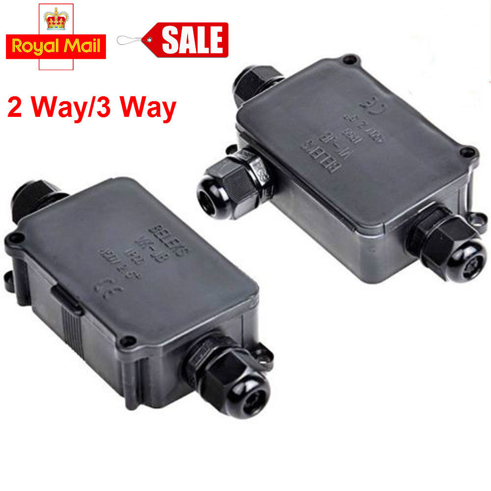 Waterproof Electrical Cable Wire Junction Box Case Connector Outdoor ...