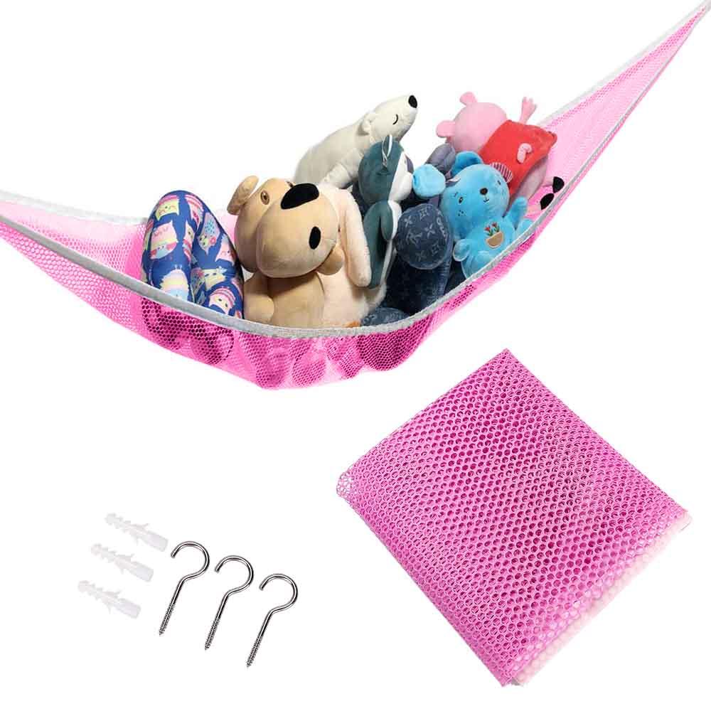 Large Toy Soft Teddy Hammock Mesh Baby Children Bedroom