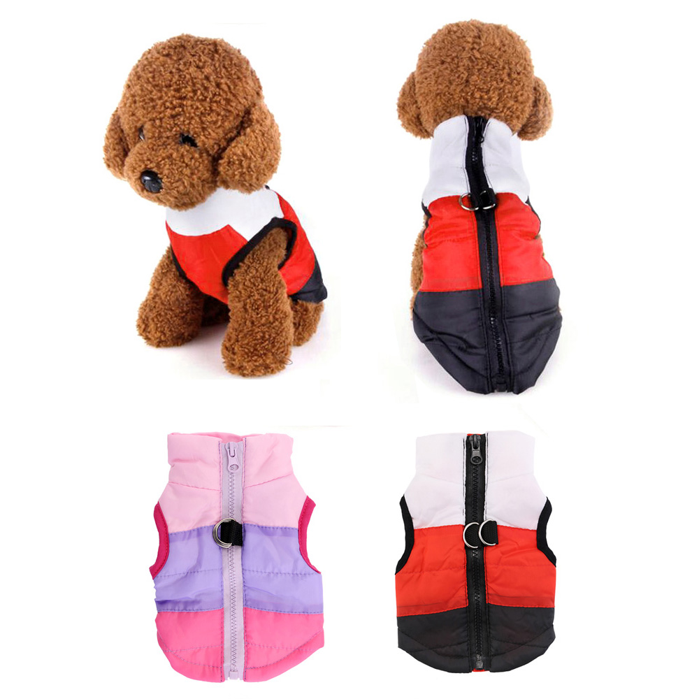 Dog Pet Coats Winter Warm Clothes Padded Jacket for Small Dogs Puppy Chihuahua 7