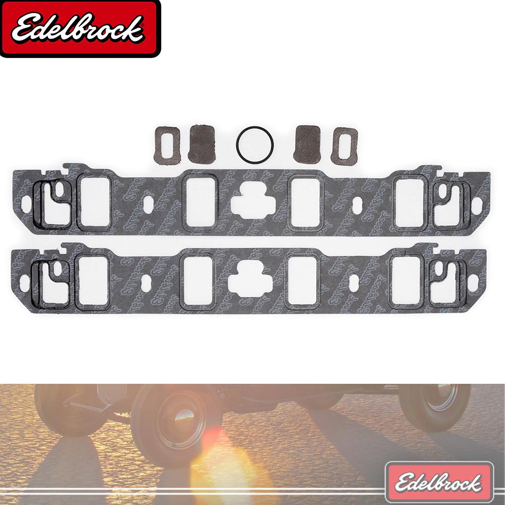 Model: 7202 Edelbrock 7202 Intake Manifold Gasket Outdoor/&Repair Store Pair