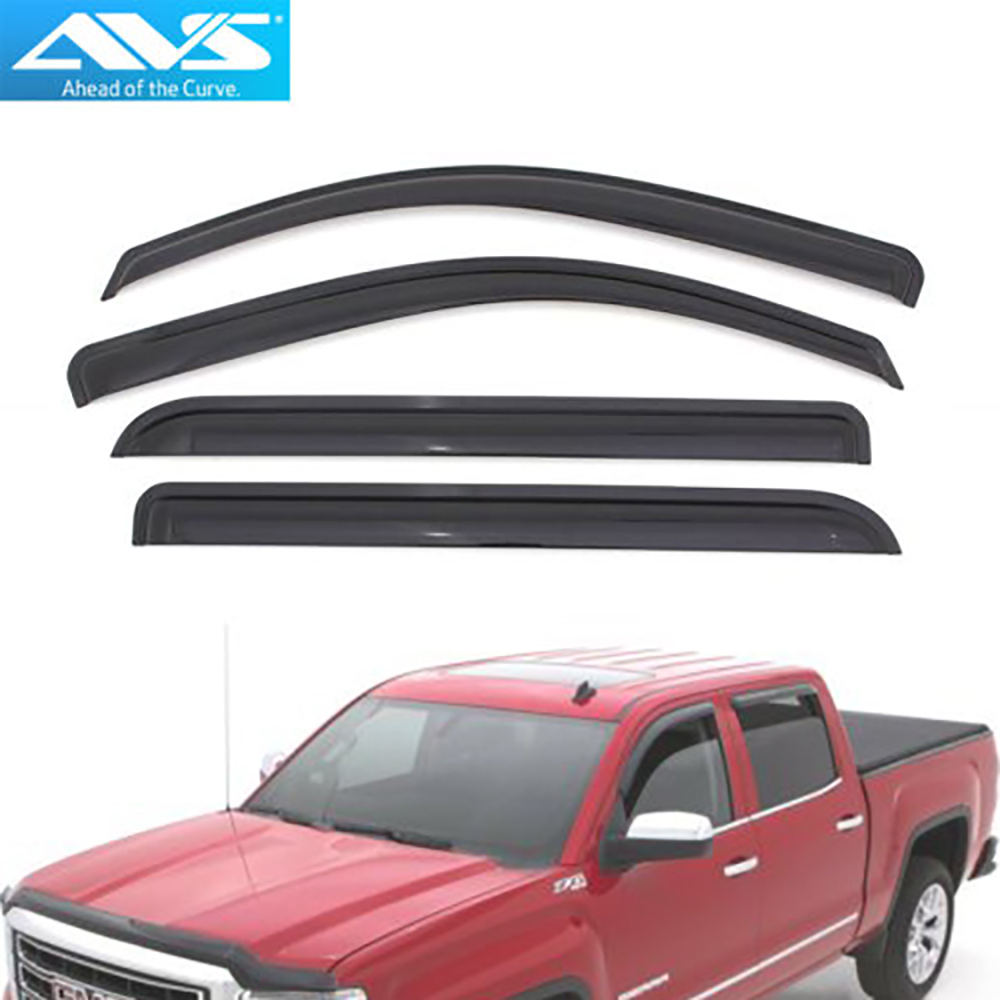 Window Deflector Auto Ventshade Ventvisor Side for 2014-2018 Silverado 4-Piece