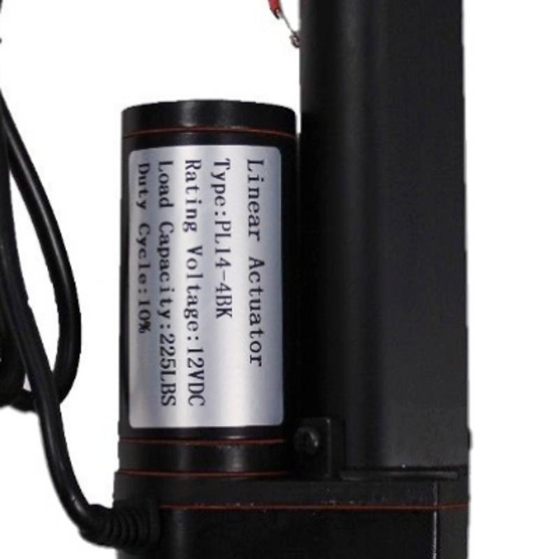 4 U0026quot  Inch Linear Actuator Stroke 225 Pound Lift 12v Volt Dc