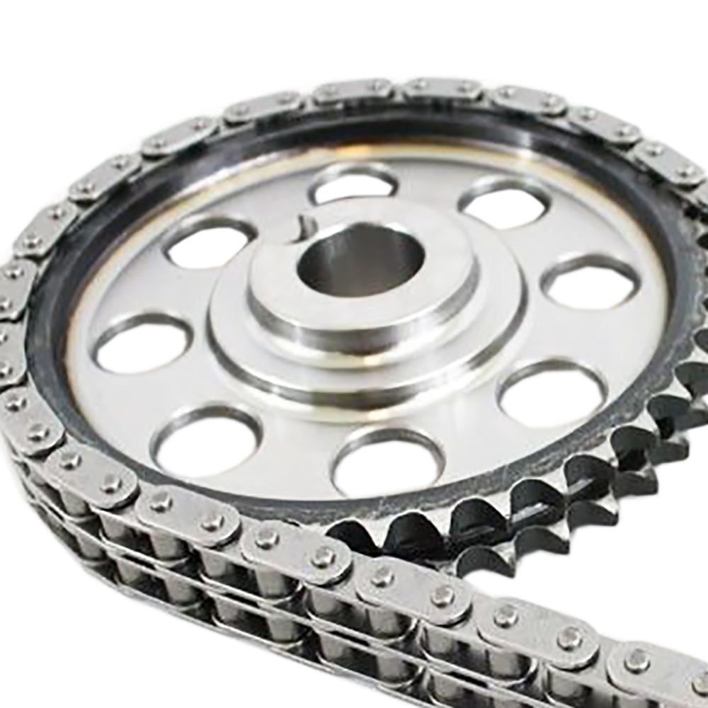 Double Roller 9 Keyway Billet Steel Timing Chain Kit For
