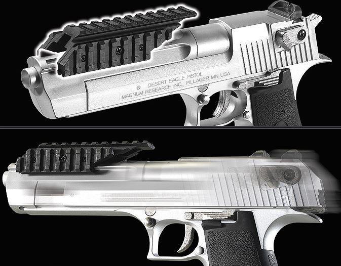 Academy Airsoft Gun Plastic Model Desert Eagle Pistol 50