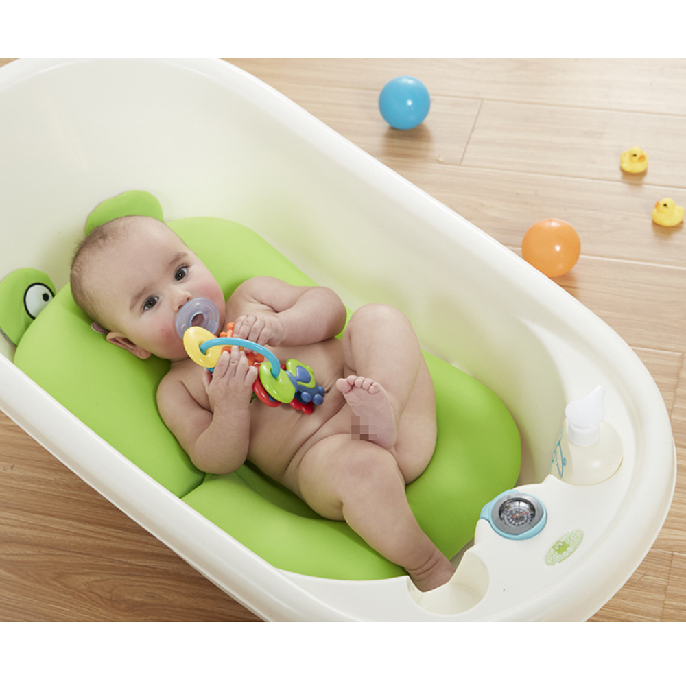 Bath Baby Frog Pad Seat Newborn Toddler Soft Safety Security Support ...