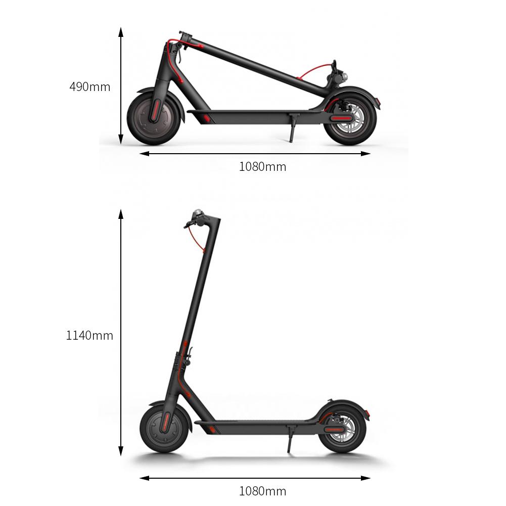original xiaomi m365 faltbarer elektroroller scooter. Black Bedroom Furniture Sets. Home Design Ideas
