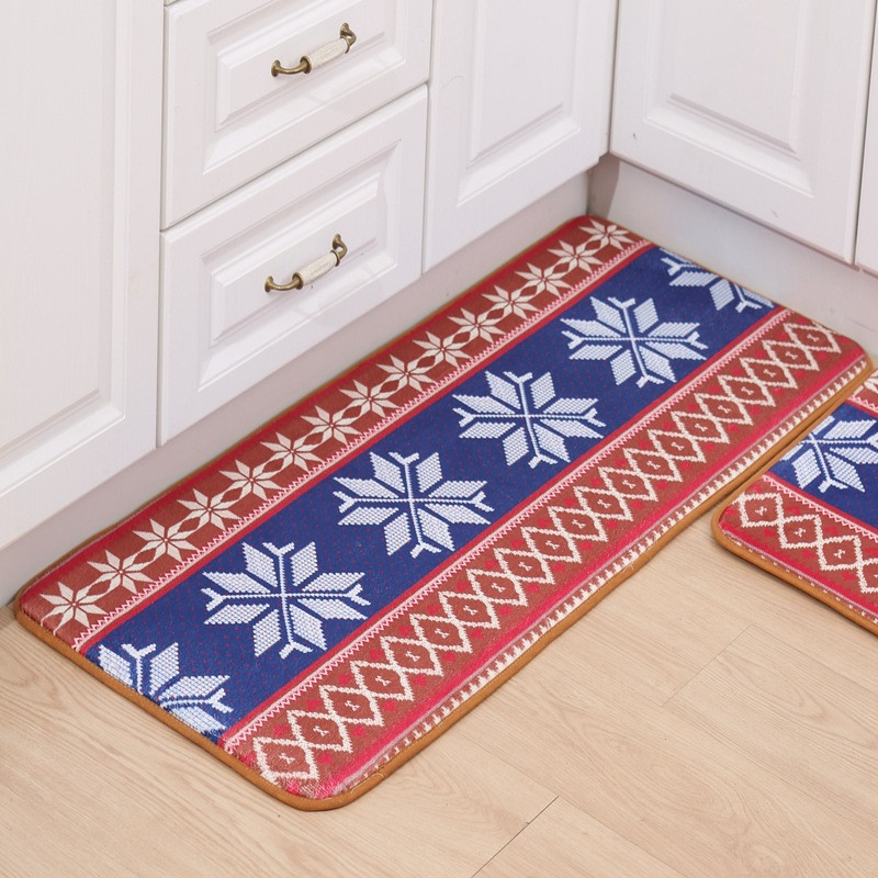 Funny Kitchen Entrance Door Mat Anti-slip Floor Rug
