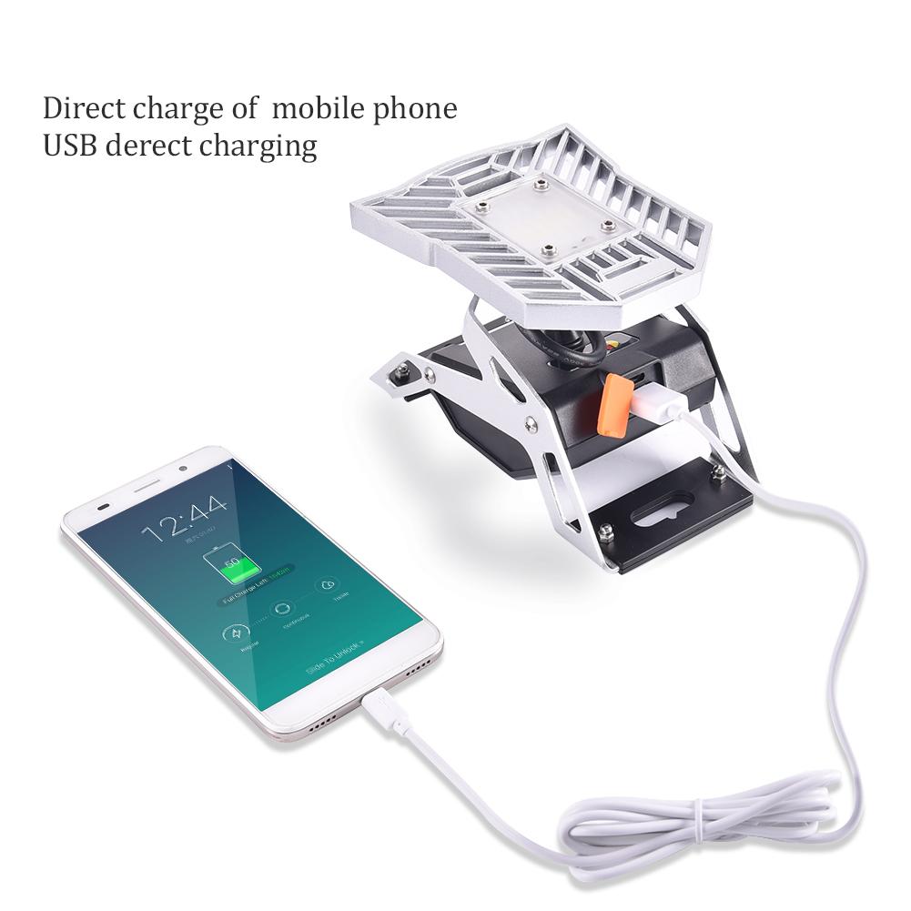 Work Light Rechargeable Led Garage Jobsite Plastic: 10X LED Work Light Portable Task Light Rechargeable USB