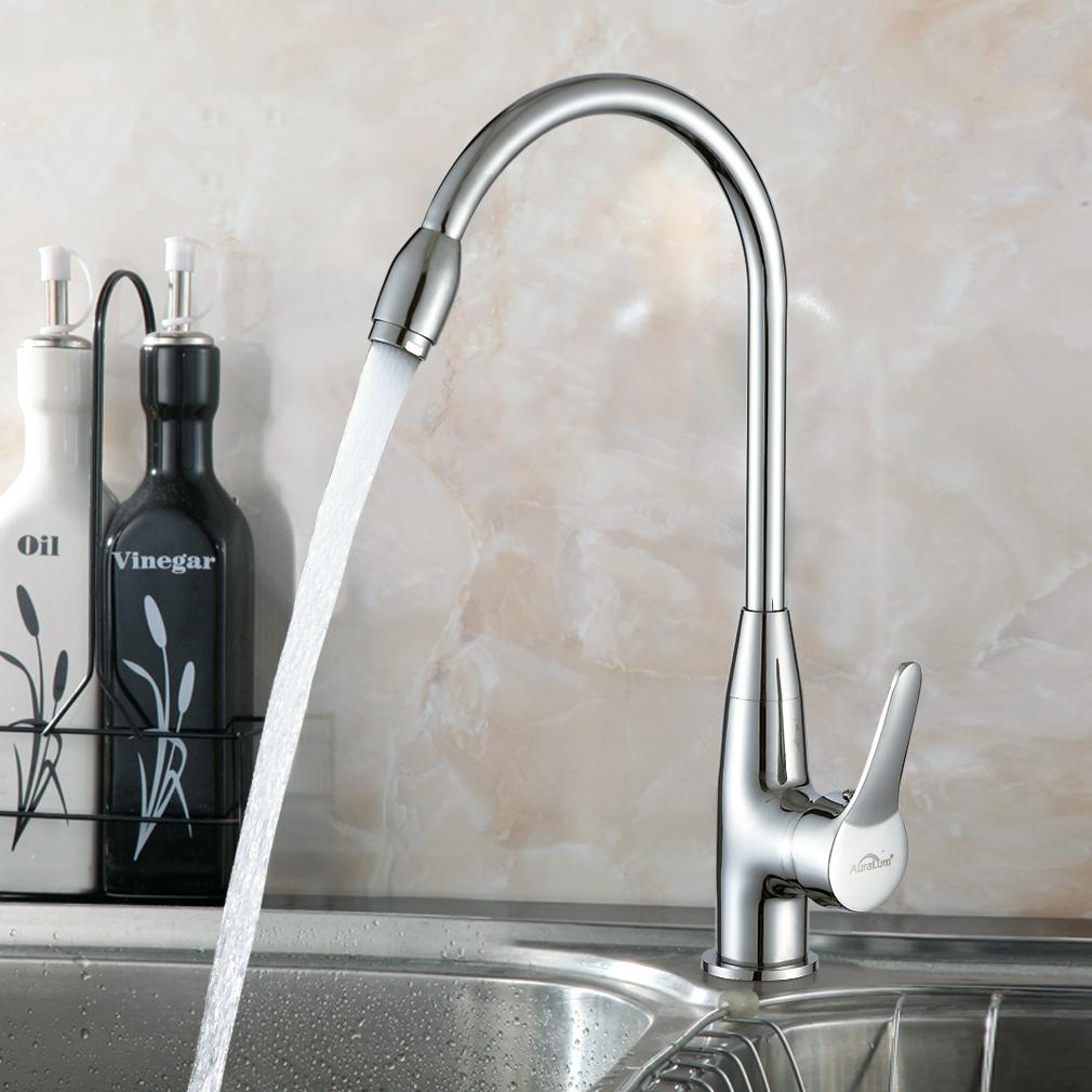 360° Schwenkbar Küchenarmatur Wasserhahn Spültischarmatur Einhebel ...