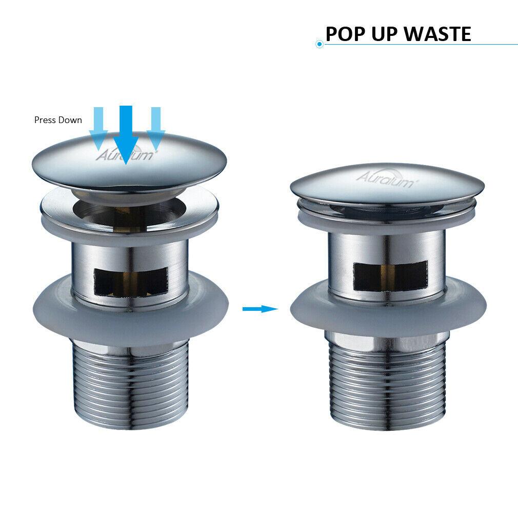 ablaufgarnitur pop up abfluss ablauf ventil mit Überlauf