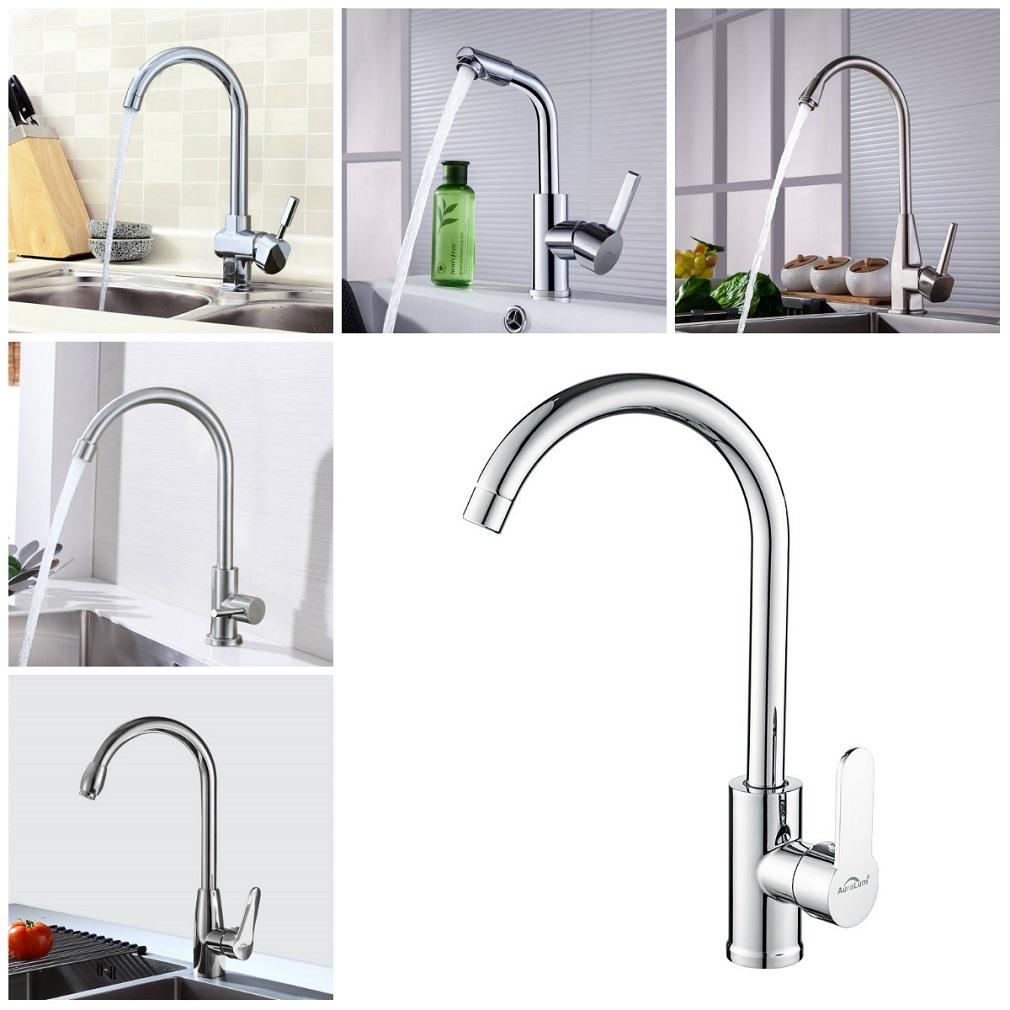 17° Küchenarmatur Wasserhahn Kaltwasser Küche Spültisch
