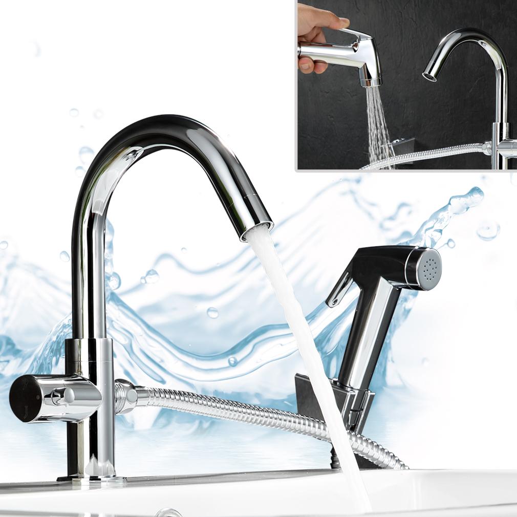 Kaltwasser Küche Armatur Wasserhahn Einhebel MIT Brause ...