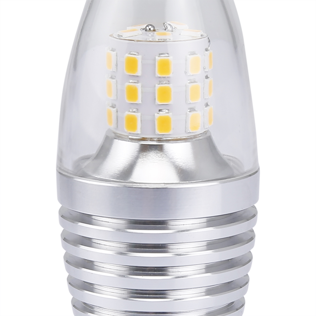 6x e14 7w led kerzen lampe kerzenbirne bulb gl hbirne leuchtmittel birne 2800k ebay. Black Bedroom Furniture Sets. Home Design Ideas