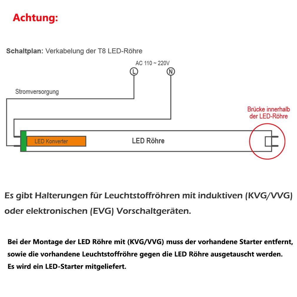 90cm T8 G13 12W LED Tube Röhre SMD Rohr Leuchte Leuchtstoffröhre ...