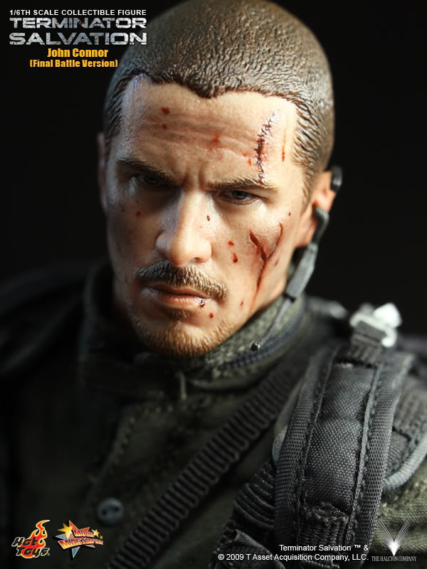 Hot toys 16 terminator 4 salvation mms111 john connor final battle hot toys terminator 4 john connor final battle version thecheapjerseys Image collections