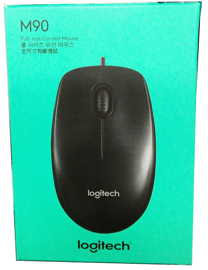 Details about New Boxed Logitech M90 USB Mouse