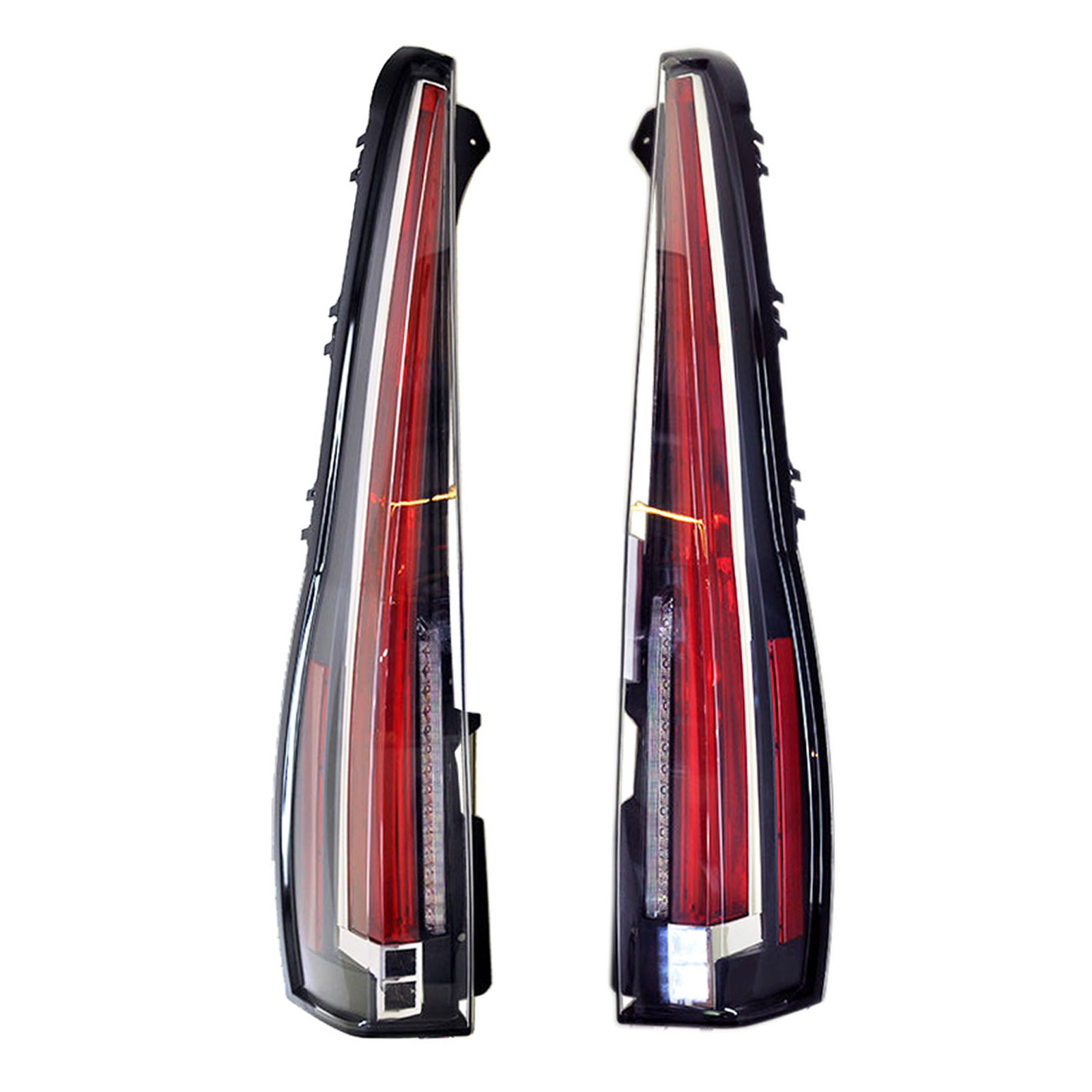 LED Red Tail Lights Rear Lamps For Cadillac Escalade / ESV