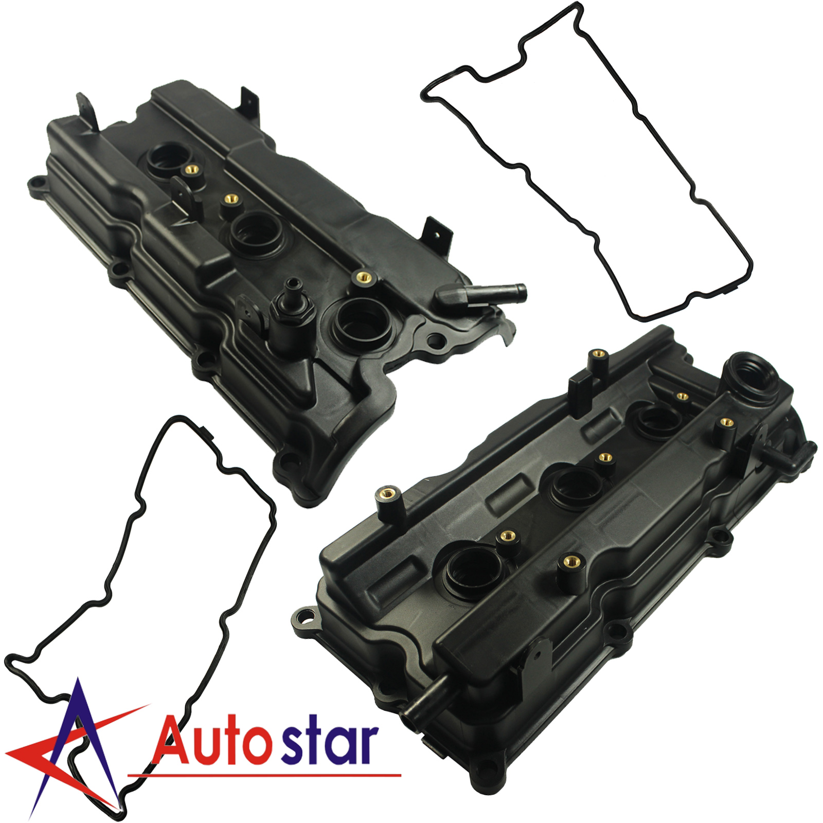 Engine Valve Cover W// Gasket For 03-09 Nissan Quest Maxima Altima Murano 3.5L