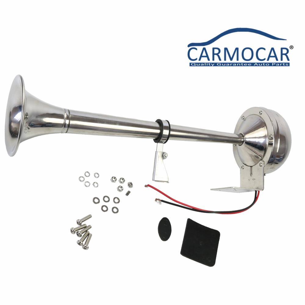 cciyu 135db 12V Air Horn Single Trumpet Air Horn Replacement for Train Car Truck Boat RV
