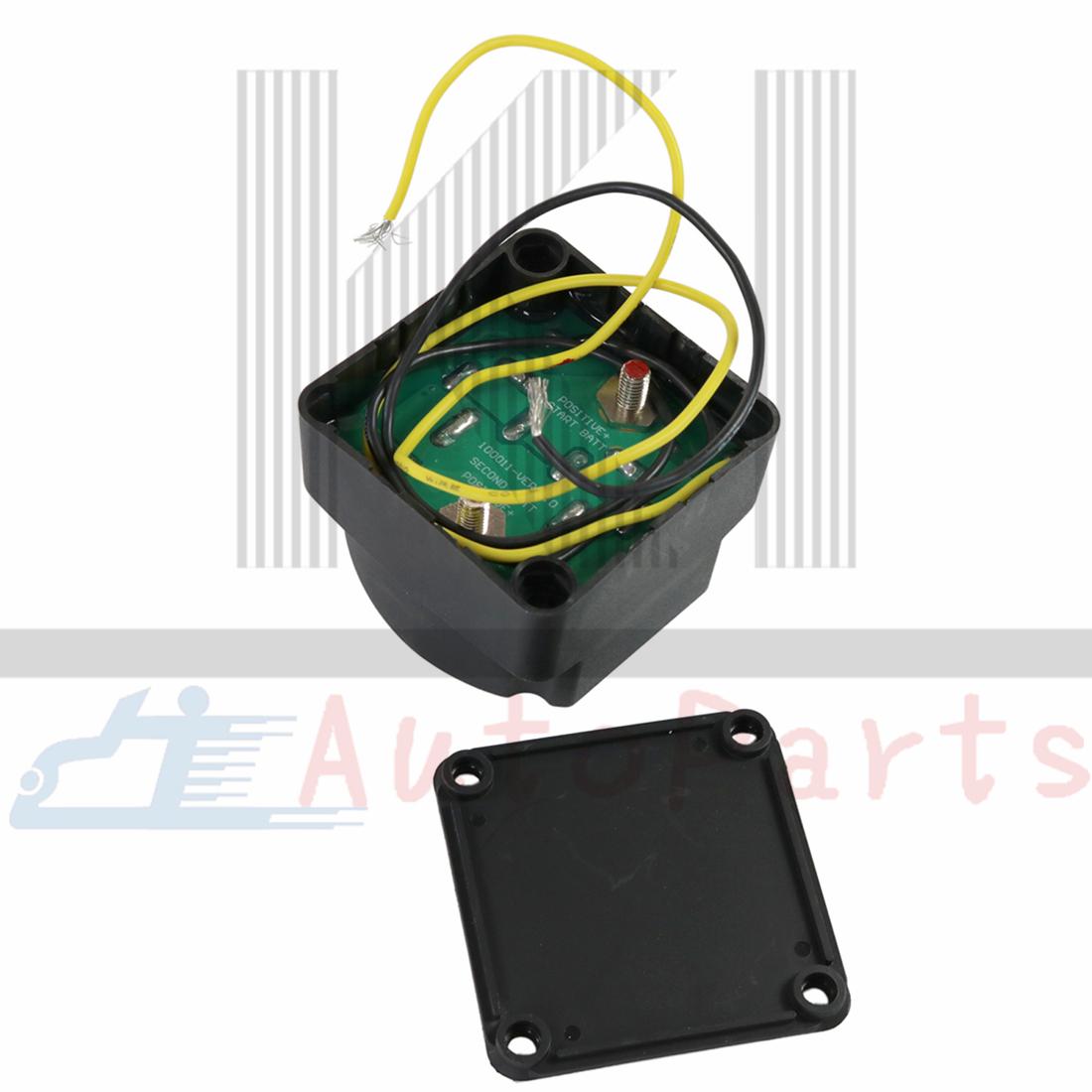 12v Smart Dual Battery Isolator Voltage Sensitive Relay