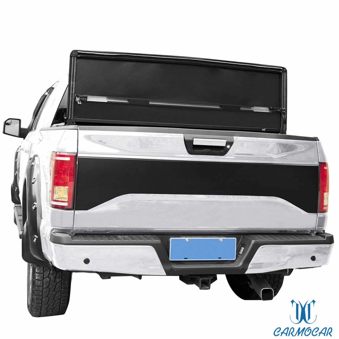Fit For 2009 2014 Ford F 150 5 5ft Bed T3 Tri Fold Tonneau Cover Jdmspeed Furnacerestaurant Co Nz