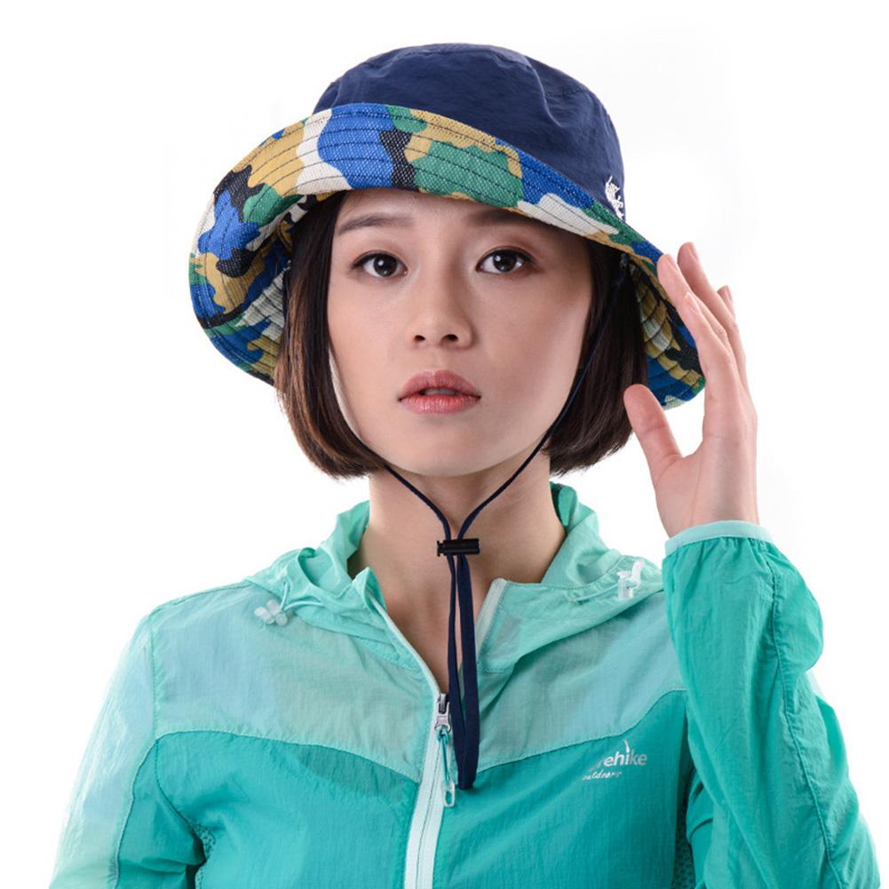 48c3e7015c64c0 Details about Breathable Brim Summer Sun Mesh Hat Quick-dry Beach Bucket Cap  for Men Women
