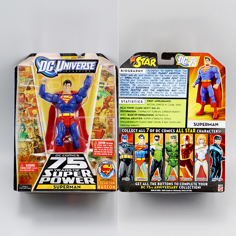 Mattel DC Universe Young Justice SUPERMAN Collectible Action Figure