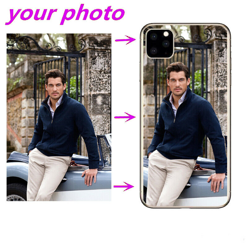 Customized Diy Phone Case Printed Soft Clear Cover Case For Iphone