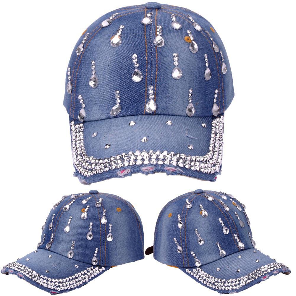 Q89 The Three Unisex Trendy Jeans Hip Hop Cap Adjustable Baseball Cap