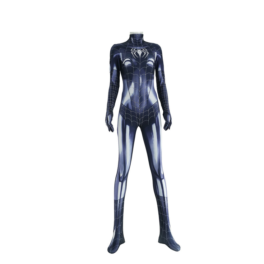 2020 Symbiote Black Cat Cosplay Costume Spider Girl