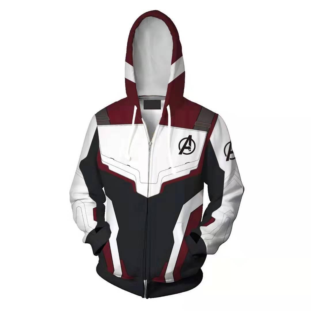 f114713a7 Avengers Endgame Quantum Battle Suit Hoodies Coat Cosplay Costume ...
