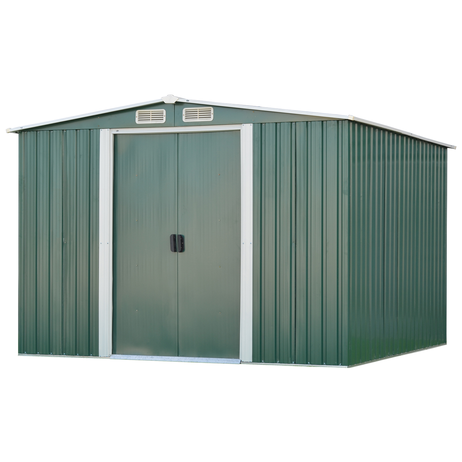 Details about 3 Sizes Garden Storage Shed All Weather Tool Utility Outdoor  Patio Backyard Lawn