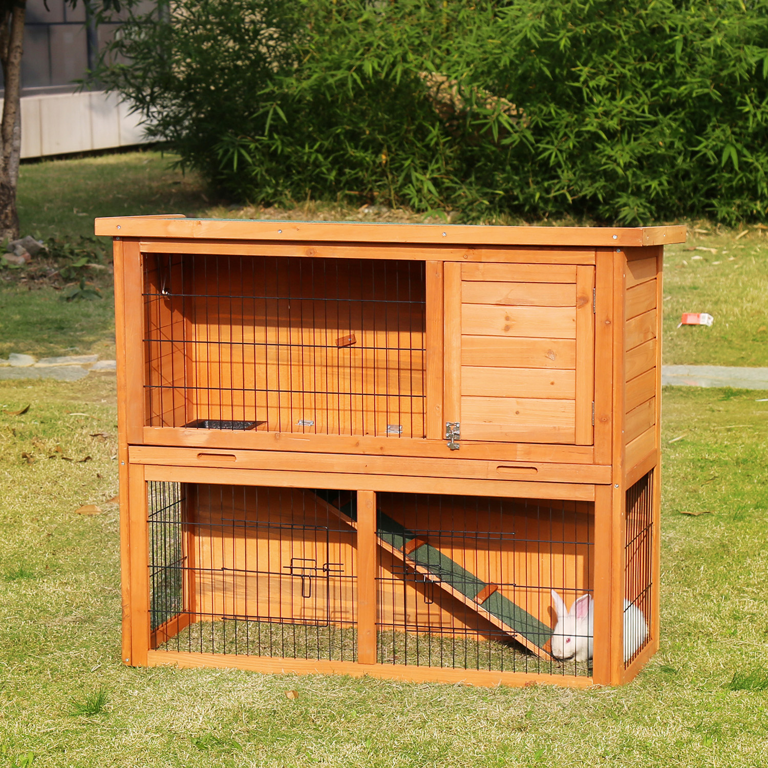 runs double pet boyles large by housing rabbit rabbithutch for pin handmade and hutches bespoke sale made hutch pinterest