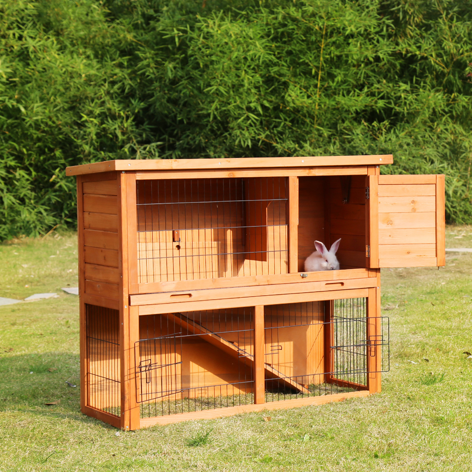 handmade for a pin advantek dp animals new and com house sale hutches amazon rabbit stilt home outdoor hutch ie decorated painted