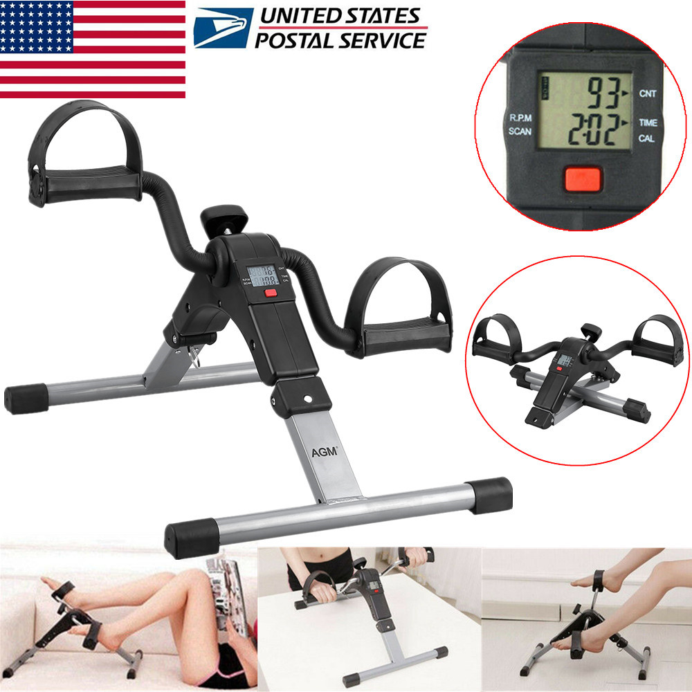 Delicieux Details About Mini Portable Exercise Bike Pedal Cycle Leg Arm Fitness W/  LCD Display Home Gym