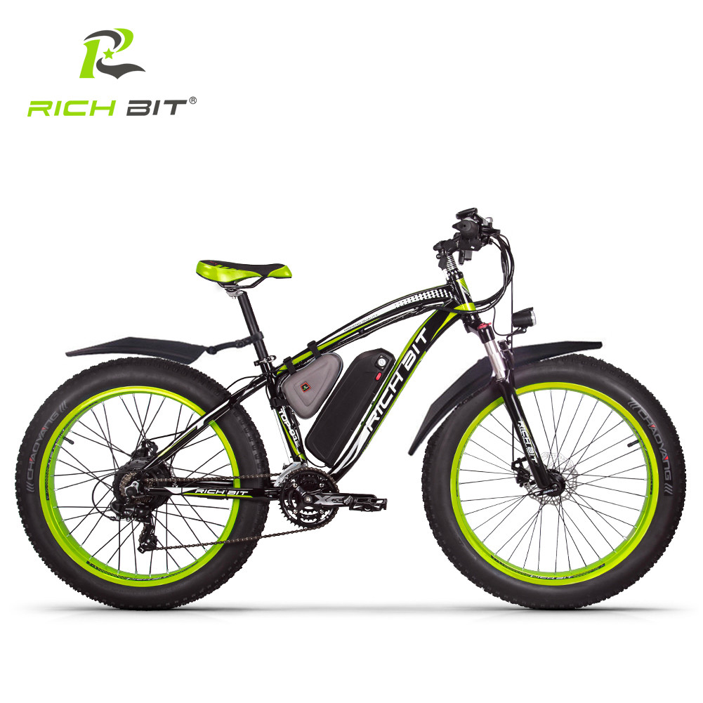 richbit elektrofahrrad 26 zoll herren 48v 1000w heck motor. Black Bedroom Furniture Sets. Home Design Ideas